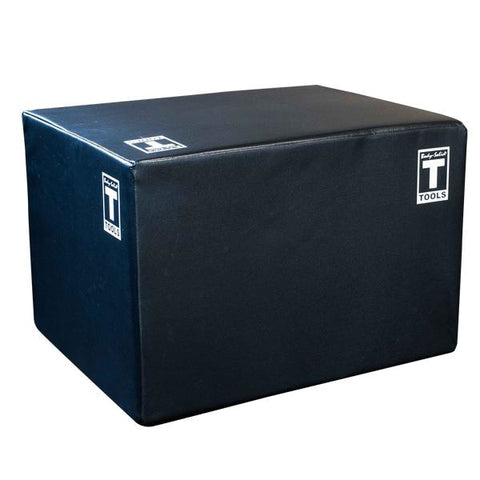 Body-Solid Soft Sided Plyo Box Three-In-One - 20 24 30! - Plyometric Platforms