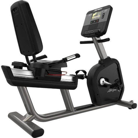 Life Fitness Club Series+ Recumbent Bike - X - Recumbent Bikes