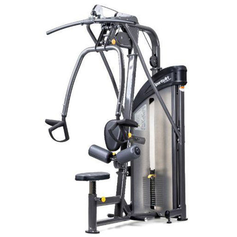 Sports Art DF203 Lat Pulldown/Mid Row - SportsArt Dual Function