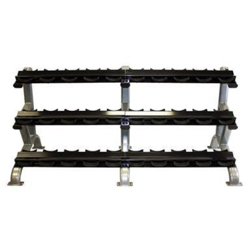 Troy Barbell 15 Pair Dumbbell Rack #DR15 - Storage
