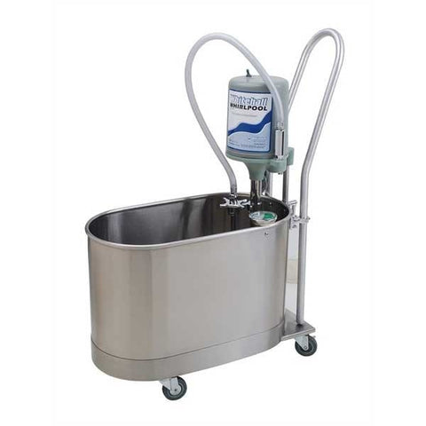 Whitehall 15 Gallon Extremity Whirlpool Mobile with Handle - Extremity Whirpools
