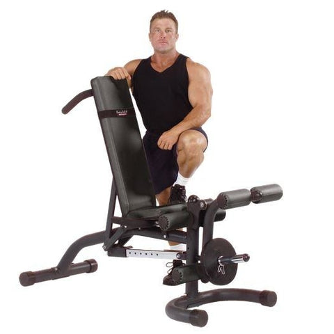 Body-Solid Olympic Leverage Flat Incline Decline Bench #FID46 - Benches