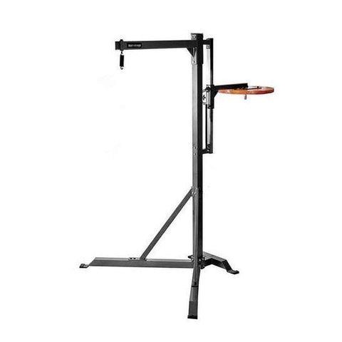 Fight Monkey Commercial Heavy Bag Stand with Speed Bag Platform - Boxing & MMA