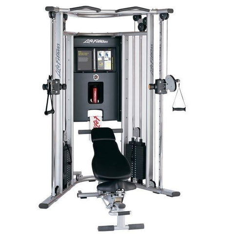 Life Fitness G7 Functional Trainer with Bench - Functional Trainers
