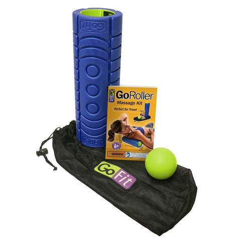 GoFit Roller Massage Kit (12-inch)