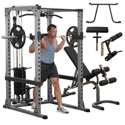 Body-Solid Pro Power Rack Package #GPR378P4