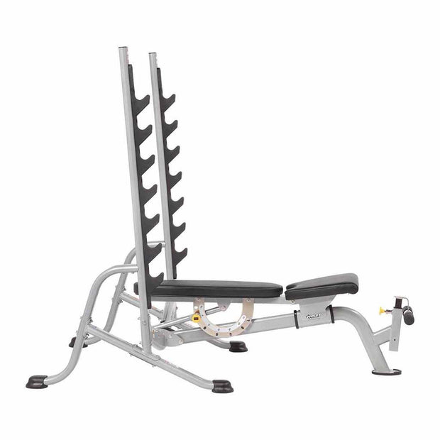 Hoist 7 Position F.I.D. Olympic Bench HF-5170 FLOOR MODEL