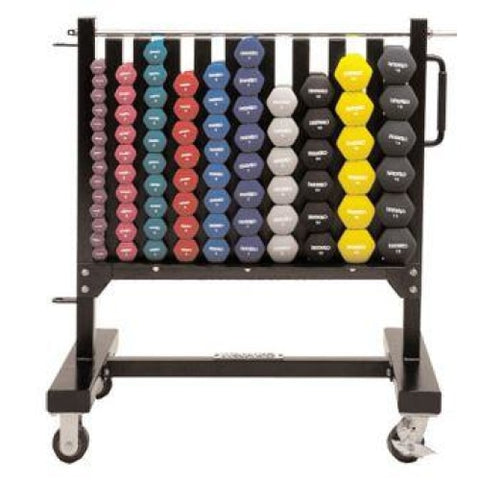 Pre-owned Ivanko Aerobic Dumbbell Rack - Residential Strength