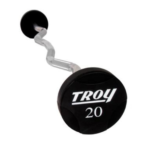 Troy Barbell Urethane Curl Barbell Set TZB-US 20 - 110 lbs. - Barbells