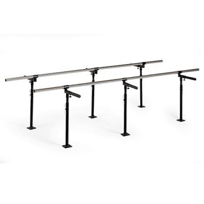Hausmann Bariatric Floor Mounted Parallel Bars #1388 - Parallel Bars