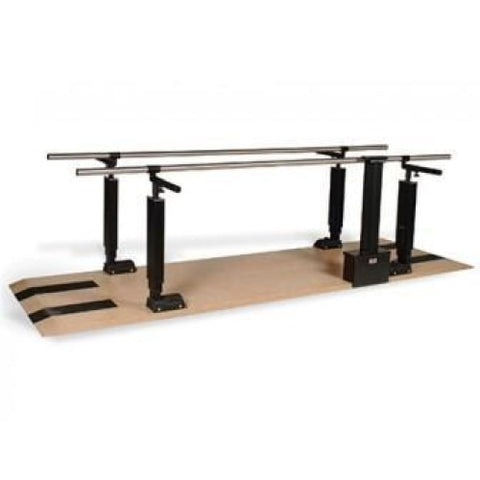 Hausmann Power Height Adjustable Parallel Bars #1396 - Parallel Bars