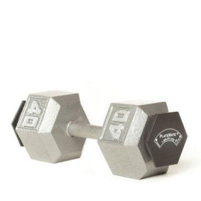 PlateMate Micro Loading 1.25 lb Hex Weight Plate 1 Pair - Add On Weights