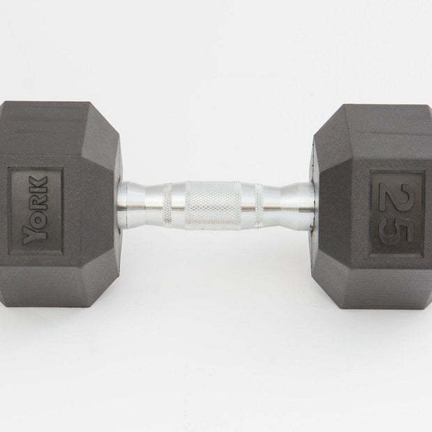 Rubber Hex Dumbbell SET 5-50 LBS.