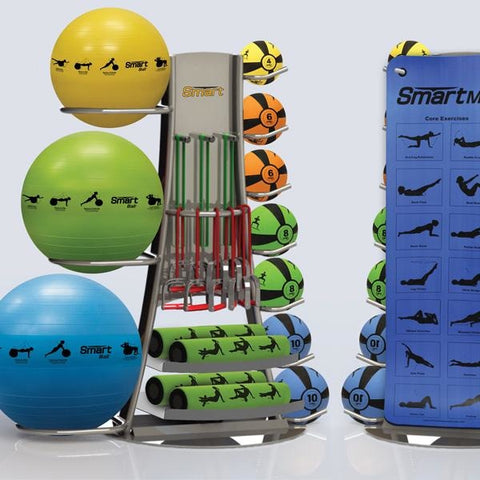 Prism Self-Guided Elite Storage Tower - Medicine Balls