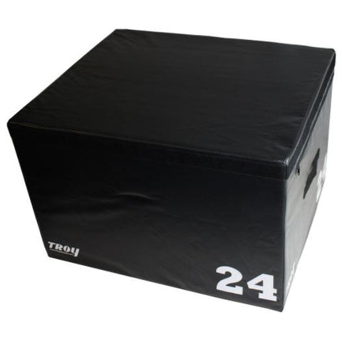 Troy Foam Stackable Plyo Box 24 #TPLYO24 - Plyometric Platforms