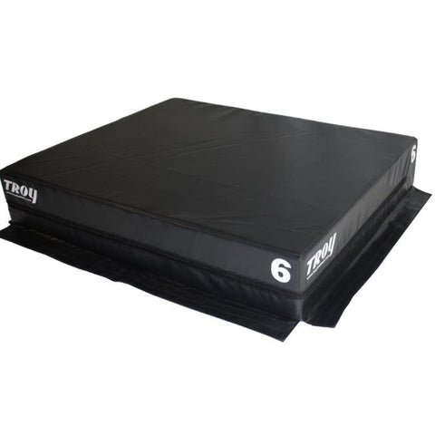 Troy Foam Stackable Plyo Box 6 #TPLYO6 - Plyometric Platforms