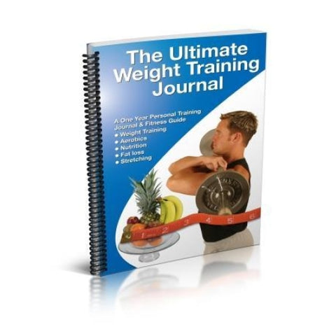 The Ultimate Weight Training Journal - Handbooks Posters & DVDs