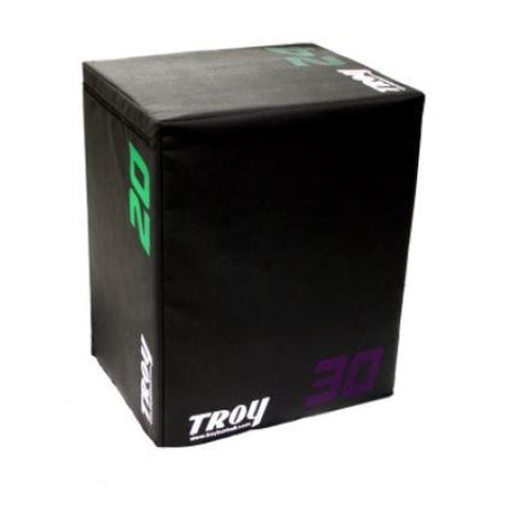 Troy Barbell Soft Foam Tri-Plyo Cube #TPC - Plyometric Platforms