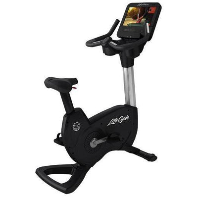 Life Fitness Platinum Club Upright Bike - Upright Bikes