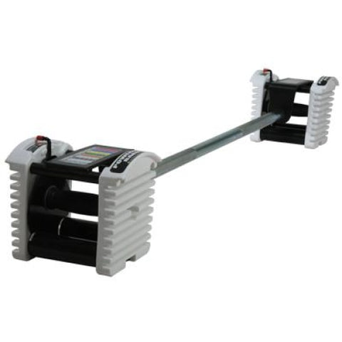 PowerBlock Urethane Straight Bar - Adjustable Dumbbells