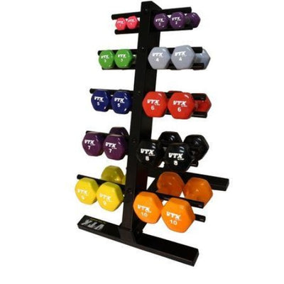 VTX Vinyl Hex Dumbbell Set - Aerobic Dumbbell Packages