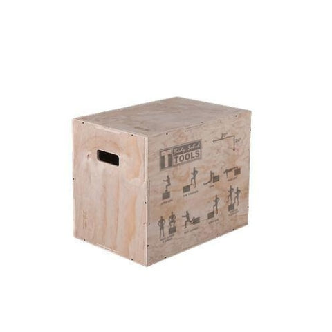 Body-Solid 3-in-1 Wooden Plyo Box #BSTWPBOX - Plyometric Boxes