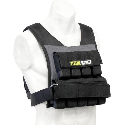 Xtreme Monkey 45 lbs Adjustable Weighted Vest - Weighted Resistance