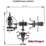Batca Omega 4 Multi-Station Gym - Commercial Multi-station Gyms