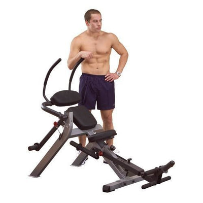 Body-Solid Semi-Recumbent Ab Bench #GAB300 - Abs & Back