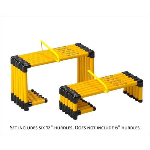 Prism Smart Hurdle Set - 12 (Set Of 6) - Sports & Agility