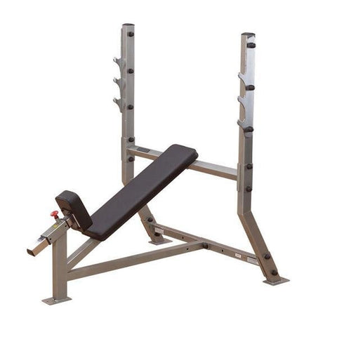 Body-Solid Incline Olympic Bench #SIB359G - Body Solid Pro Club Line