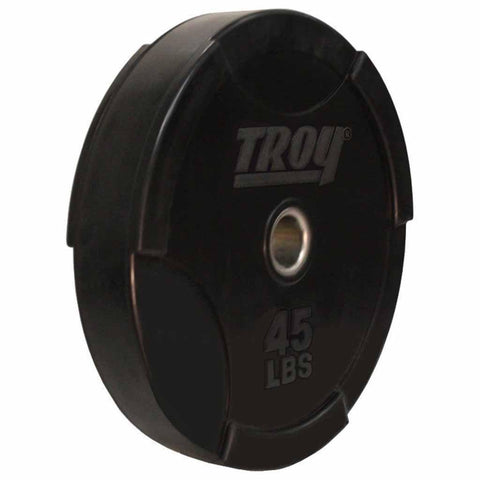 Troy Solid Rubber Bumper Plate 230 LB Set