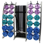 Troy Barbell Color Workout Strength Training System TLS-PAC - Barbells