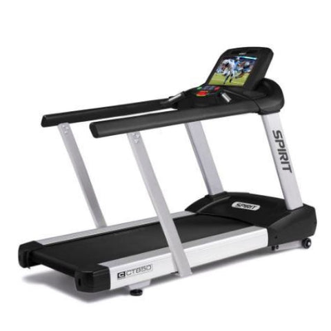 Spirit CT850ENT Treadmill WITH MEDICAL RAILS - Commercial Treadmills