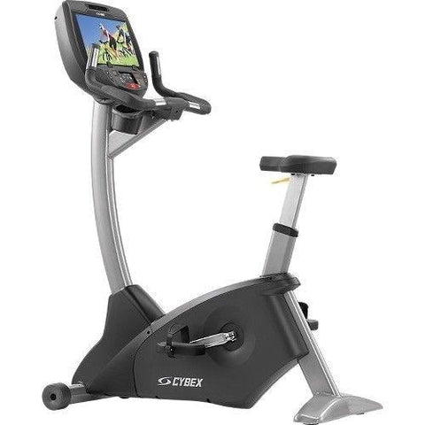 Pre-owned Cybex 770C Upright Bike w/ E3 Console - Pre-Owned