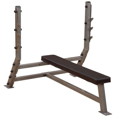 Body-Solid Flat Olympic Bench #SFB349G - Body Solid Pro Club Line