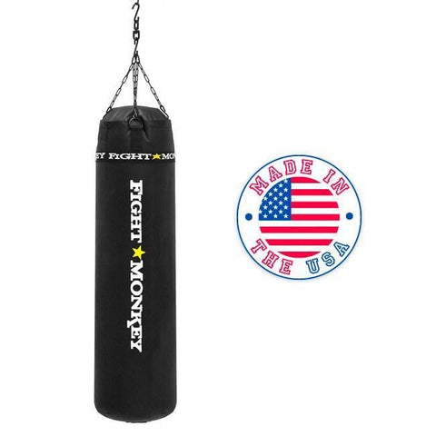 Fight Monkey 100 lbs Commercial Vinyl Heavy Bag #FM3483 - Boxing & MMA