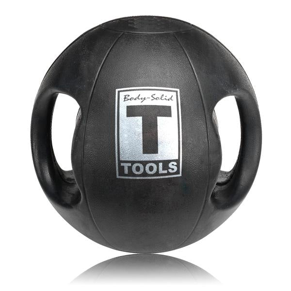 Body-Solid Dual Grip Med Ball - 6 lbs. - Medicine Balls
