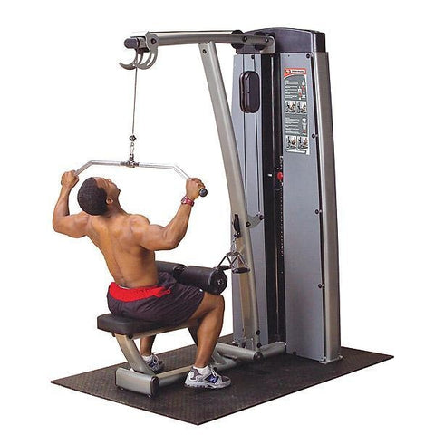 Body-Solid Pro Dual Lat Pulldown / Mid Row #DLAT-SF - Body Solid Pro Dual Line