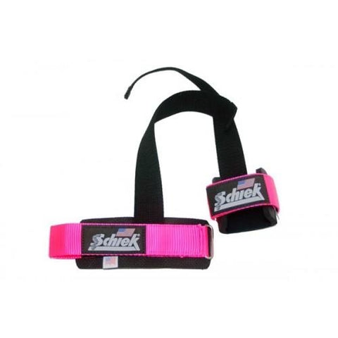 Schiek Power Lifting Straps - Pink #1000PLS-Pink - Lifting Straps