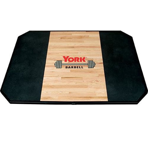 York Barbell Solid Red Oak Platform *CUSTOMIZABLE* - Platforms