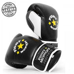 Fight Monkey Professional Series Leather Gloves #FM3848 - Boxing & MMA
