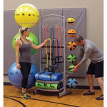 Prism Self-Guided Deluxe Storage Tower - Medicine Balls