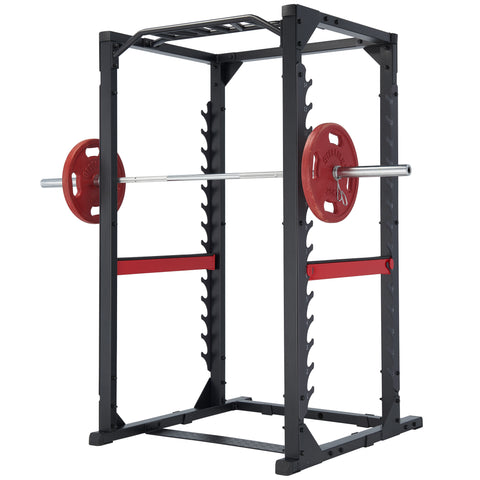 Steelflex Club Line Power Rack 380 With Monkey Bar and Hi Low Pulley WITH WEIGHTS FLOOR MODEL