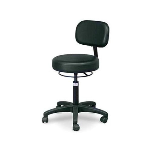 Hausmann Economy Air-Lift Stool with Backrest #2156 - Stools