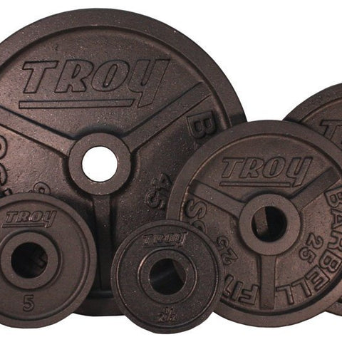 TROY Premium Wide Flanged Plate 255 lb Set