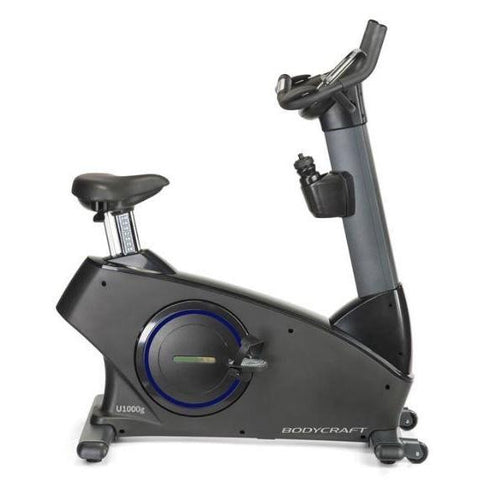 Bodycraft U1000g Upright Bike Self Powered - No Cords! - Upright Bikes