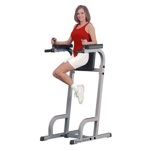 Body-Solid Vertical Knee Raise Machine #GVKR60 - Abs & Back