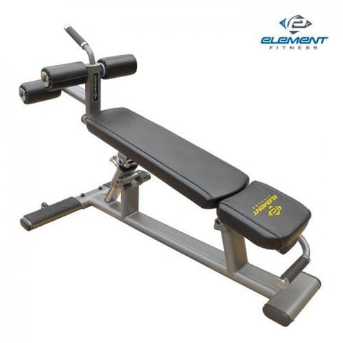 Element Fitness Commercial Ab/Crunch Bench #E3589 - Benches