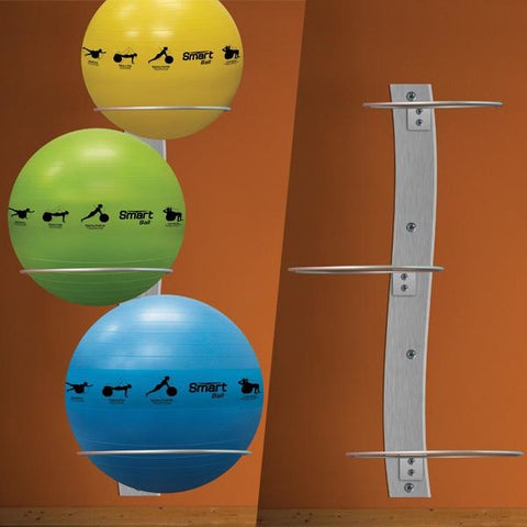 Prism Wall Mounted Stability Ball Rack - Storage